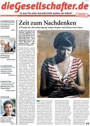 Zeit zum Nachdenken - Die Gesellschafter.de