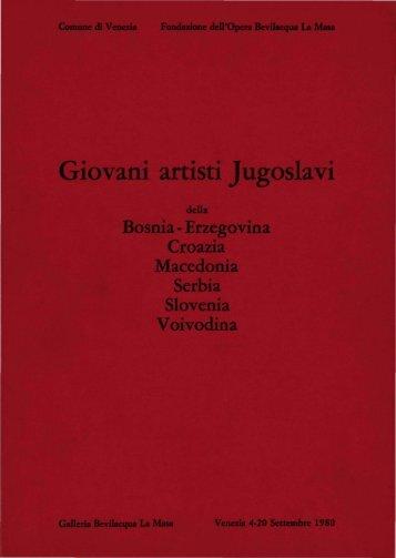 Giovani artisti Jugoslavi