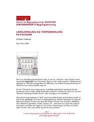 ANVISNINGER til Bygningsbevaring LINOLIEMALING OG ...