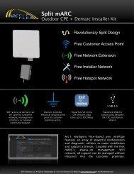 Split mARC Datasheet - Titan Wireless