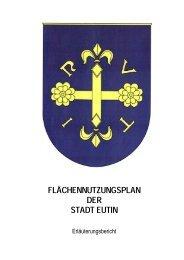FLÄCHENNUTZUNGSPLAN DER STADT EUTIN - Kreis Ostholstein