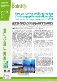 Vers un service public européen d'océanographie ... - Mercator Océan
