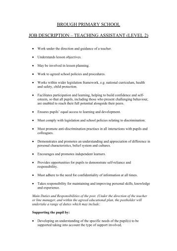 teaching assistant level 3 jobs manchester