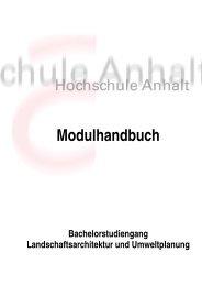 Modulhandbuch - Fachbereich Landwirtschaft - Ökotrophologie ...