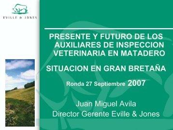 AUXILIARES DE INSPECCION VETERINARIA EN MATADEROS ...
