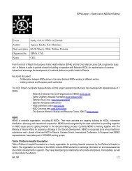 Report Study Visit to Estonia - European Public Health Alliance