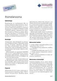 Ihomelanooma - Terveyskirjasto