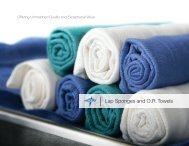 Lap Sponges and ORTowels - Safe Home Products