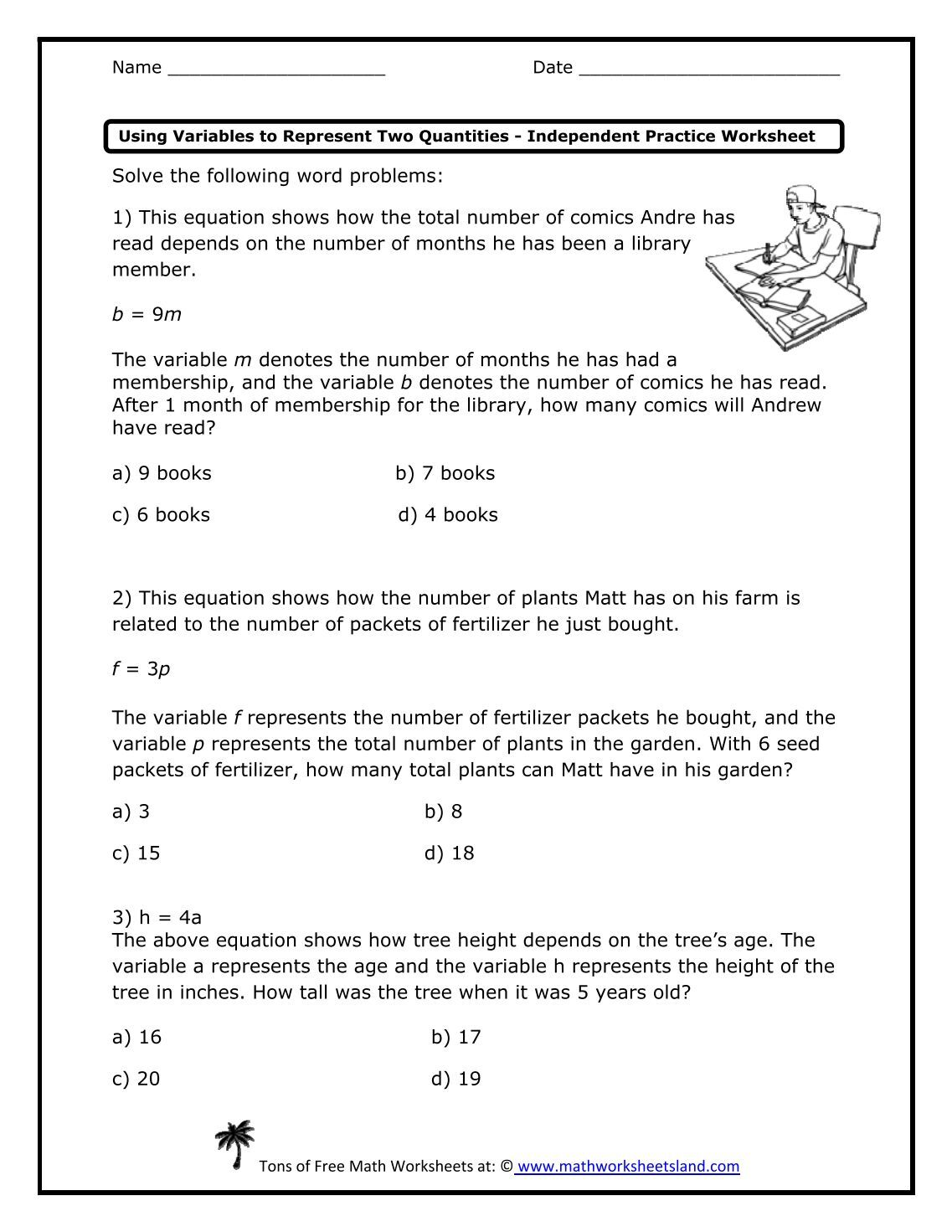 Free Worksheet Math Worksheet Land 260 free magazines from mathworksheetsland com com