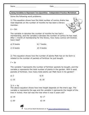 Printables Math Worksheet Land math worksheets land review intrepidpath worksheet reviews answers
