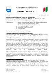 Aktuelles Mitteilungsblatt (PDF) - Villingen-Schwenningen