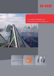 Produktkatalog 2013 - D+H Mechatronic