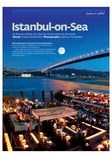 Istanbul-on-Sea - Rutherford Tomasetti Partners SARL