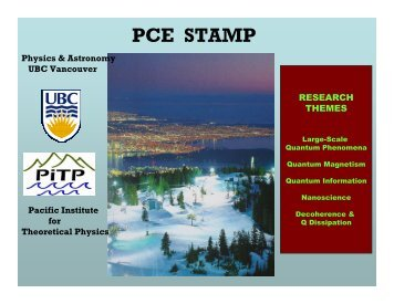 Research - PiTP