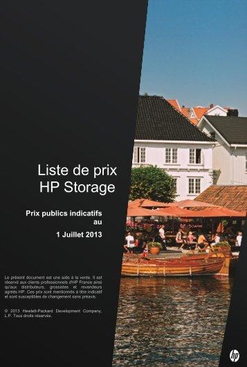 HP Storage - Hewlett-Packard France - HP