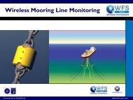 Wireless Mooring Line Monitoring Presentation - WFS