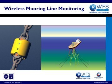 Wireless Mooring Line Monitoring Presentation - WFS