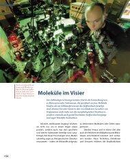 Moleküle im Visier - Max-Planck-Institut für biophysikalische Chemie