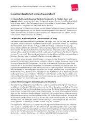 Übrblick zum Diskussionsstand - Fachbereich Medien, Kunst und ...