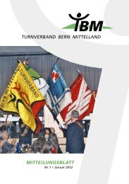 Mitteilungsblatt Nr. 1/2012 (PDF) - Turnverband Bern Mittelland