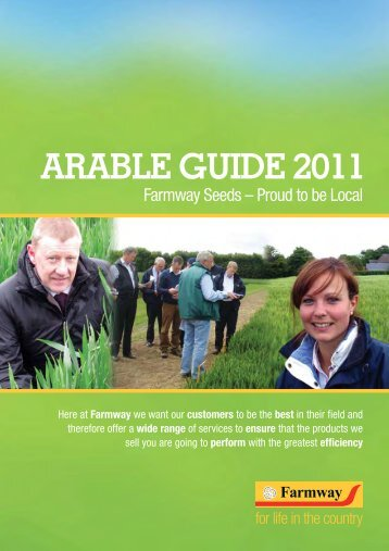 2011/06 Arable Guide 2011 - Farmway