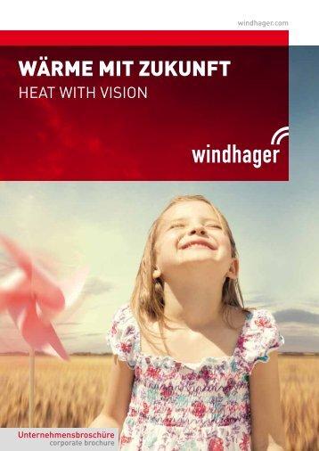 Unternehmensbroschüre - Windhager