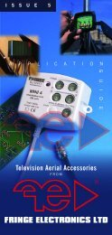Television Aerial Accessories - Fringe Electronics Ltd