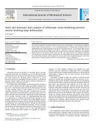 Static and kinematic limit analysis of orthotropic strain-hardening ...