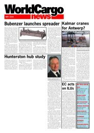 Front Cover May - WorldCargo News Online