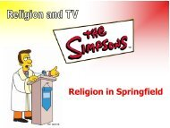 Religion in Springfield.pdf - Stanwell School