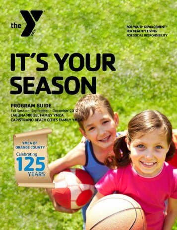 View/Download Fall 2012 Program Guide - YMCA of Orange County