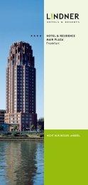 HOTEL & RESIDENCE MAIN PLAZA Frankfurt