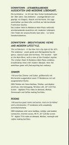 HOTEL & RESIDENCE MAIN PLAZA Frankfurt - Seite 2