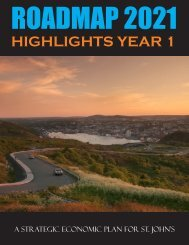 Roadmap 2021: Highlights Year 1 - City of St. John's