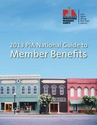 Download the PIA National Guide to Member Benefits