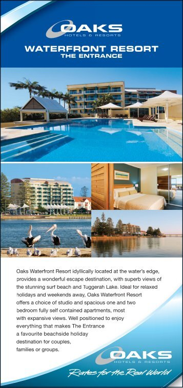 WATERFRONT RESORT - Oaks Hotels & Resorts