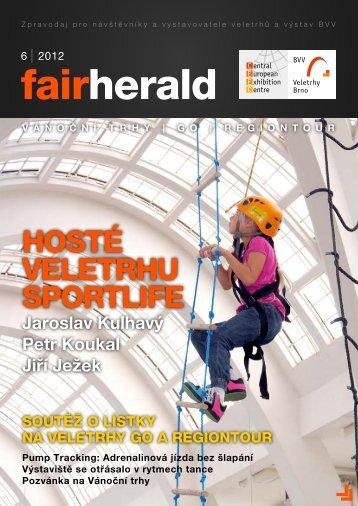 HOSTÉ VELETRHU SPORTLIFE - fairherald