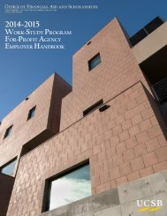 For-Profit Handbook - Financial Aid Office - University of California ...