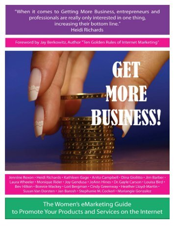 Getting More Business - Women In Ecommerce
