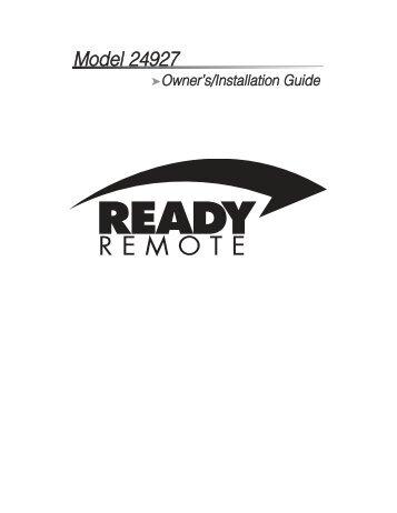 Ready Start!® Remote Car Starter - Ready Remote