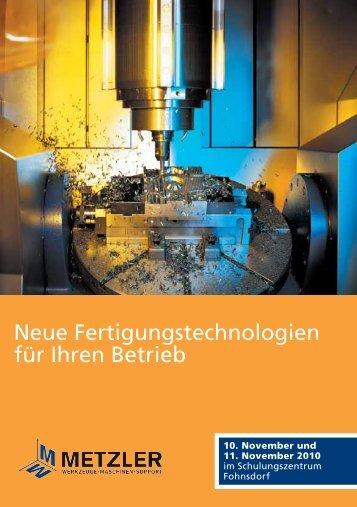 Neue Fertigungstechnologien für Ihren Betrieb - Techsoft ...