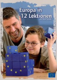 Europa in 12 Lektionen - EU Bookshop - Europa