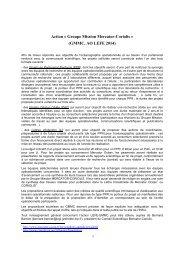 GMMC, AO LEFE 2014 - Mercator Océan