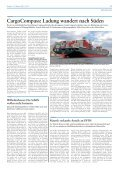Internationale Reedereien und ihre Fahrtgebiete auf einen ... - Verkehr - Page 3