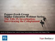 PDF file of the PowerPoint slides from the webinar. - Pepper ...