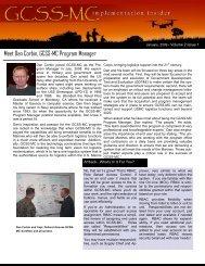 Implementation Insider - January 2009 (PDF) - Marine Corps ...