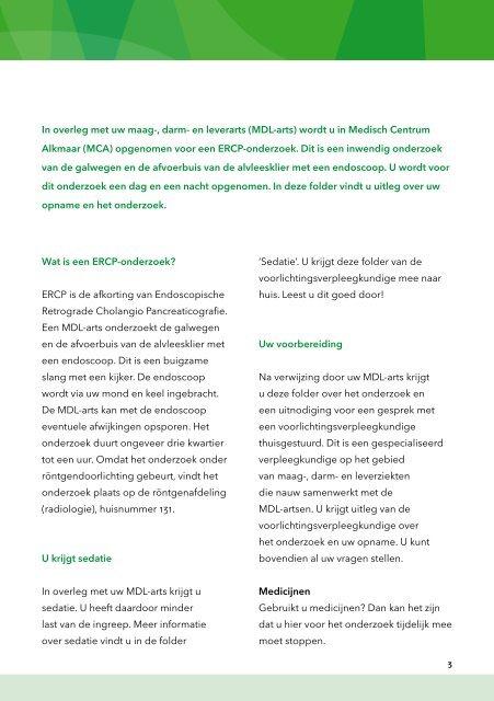 ERCP-onderzoek - Mca