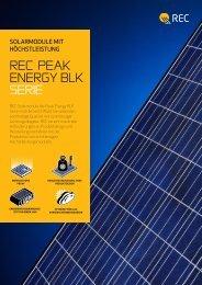 REC Module PE-Serie 230 - 255 Watt schwarzer ... - Gerenda Solar
