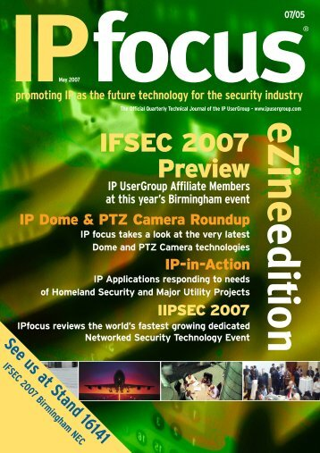 IPfocus May 2007 Mag - IP UserGroup