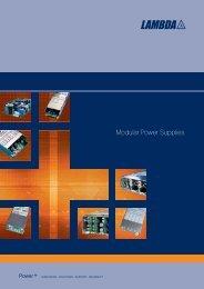 Modular Power Supplies - Fibat